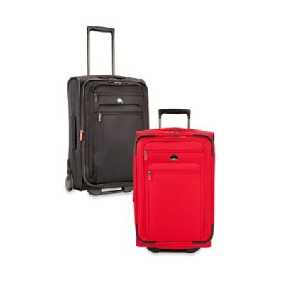 DELSEY Helium Sky 2.0 Expandable 2-Wheel Trolley Carry On Suitcase in Red