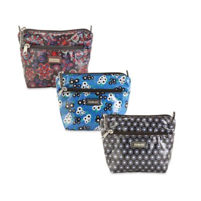 Hadaki® Double Zip Pouch in Fantasia Floral
