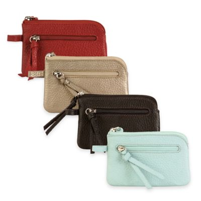 Hadaki® Leather Key Pouch in Aquifer