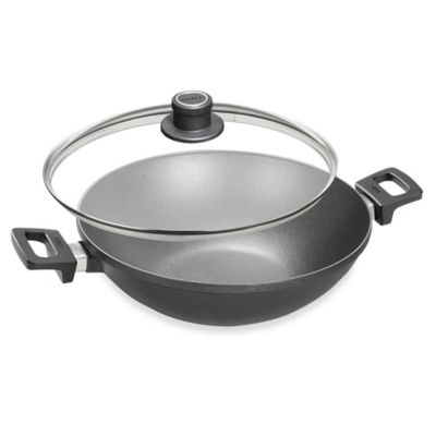 Woll® nowo Titanium Nonstick 12.5-Inch Covered Wok