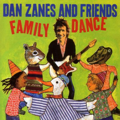 Family Fun Music CD by Dan Zanes and Friends