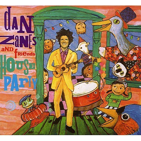 House Party Music CD by Dan Zanes and Friends