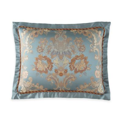 Waterford® Linens Dunham King Pillow Sham in Glacier