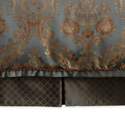 Waterford® Linens Dunham Tailored Queen Bed Skirt in Glacier