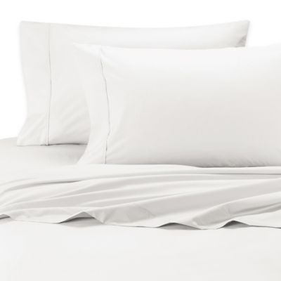 Silky Soft 400-Thread-Count Standard Pillowcase in White