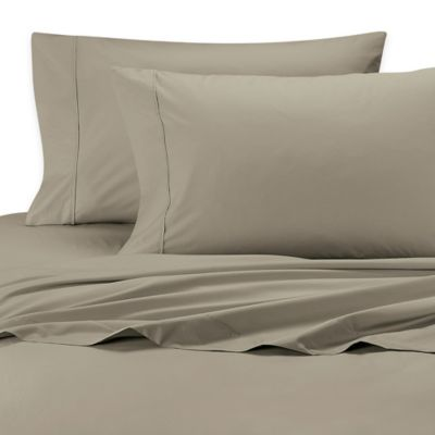 Twin Sheet Set in Taupe