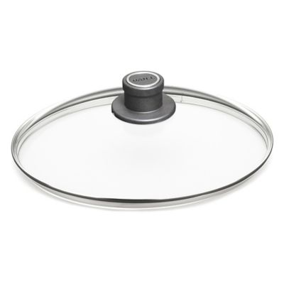 Woll® nowo 9.5-Inch Round Glass Lids with Vented Knob Handle