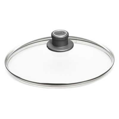 Woll® nowo 12.5-Inch Round Glass Lids with Vented Knob Handle
