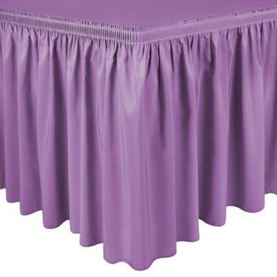 Purple Table Linens