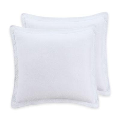 Abby European Pillow Sham in White
