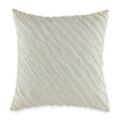 Jeffrey Alan Marks for Inspired By Kravet Treeline Pleated Square Throw Pillow in White