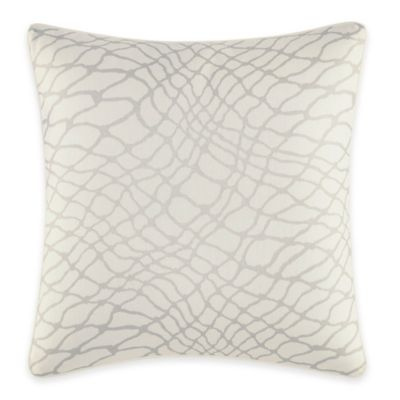 Jeffrey Alan Marks for Inspired By Kravet Treeline Square Throw Pillow in White