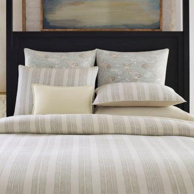 Jeffrey Alan Marks for Inspired by Kravet Waterway European Pillow Sham in Blue