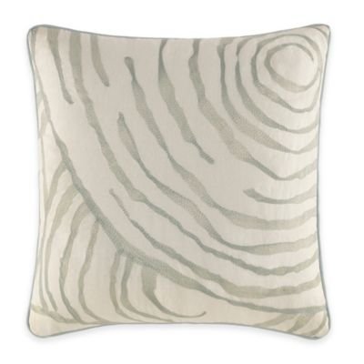 Jeffrey Alan Marks for Inspired by Kravet Waterway Square Throw Pillow in Natural