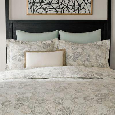 Jeffrey Alan Marks for Inspired By Kravet Whirlpool King Pillow Sham in Mineral Grey