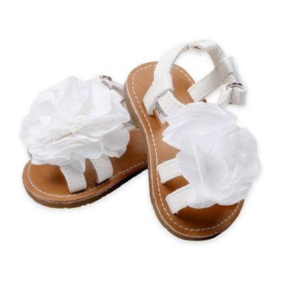 Rising Star™ Size 8 Flower Sandal in White