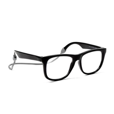 Baby Opticals by Mustachifier™ Clear Lens UV Glasses in Black