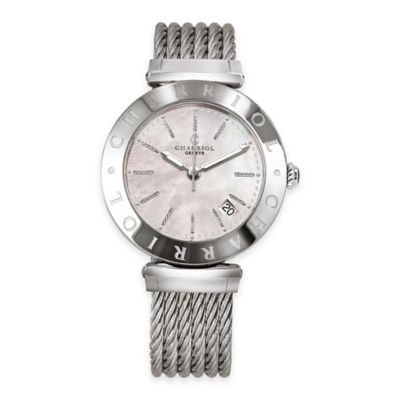Charriol Alexandre C Ladies' 34mm Watch in Stainless Steel