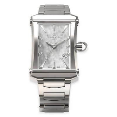 Charriol COLVMBVS™ Cintre Convexe Ladies' Watch in Stainless Steel w/Mother of Pearl