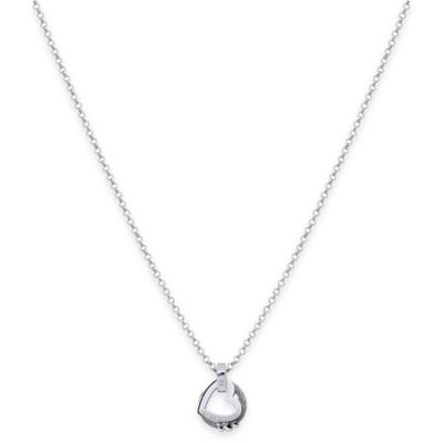 Charriol 100 Ways to Love Silvertone Stainless Steel 18-Inch Chain Pendant Necklace