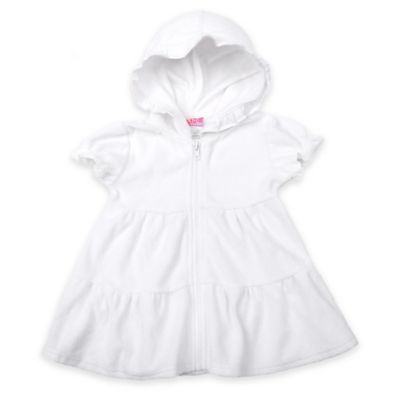 sol swim® Size 24M Tiered Cover-Up in White