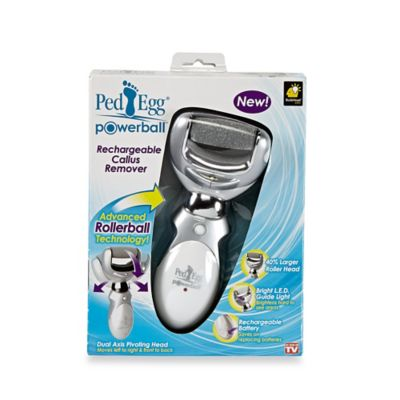 Ped Egg™ Powerball Rechargeable Callus Remover