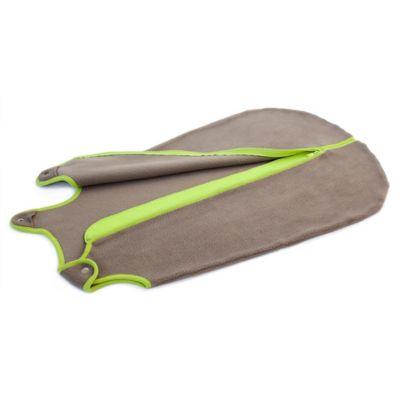 Baby Deedee® Small Sleep Nest® Fleece in Khaki/Lime