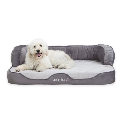 Serta® iComfort® Large Sofa Pet Bed in Tan