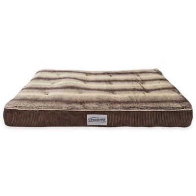 Beautyrest® Memory Snooze Large Dog Bed in Brown