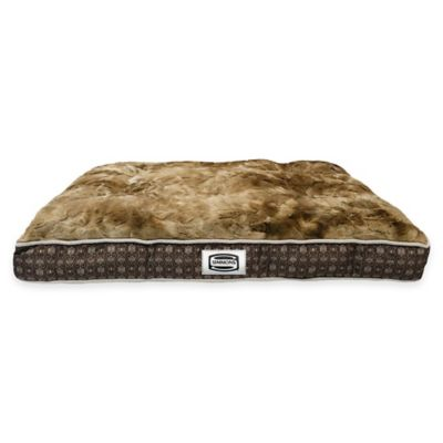 Simmons® Retromat Dog Large Bed in Mushroom
