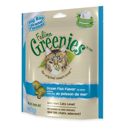 Feline Greenies® Dental Treats 5.5 oz. Ocean-Fish-Flavor Cat Treats