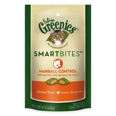 Greenies® Smartbites™ Hairball Control Chicken Flavored Cat Treats