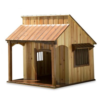 The Saloon Dog House in Brown