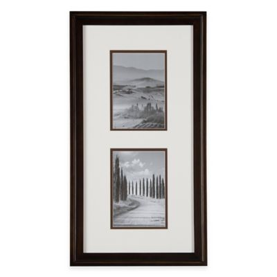 Metallic Wood Photo Frames