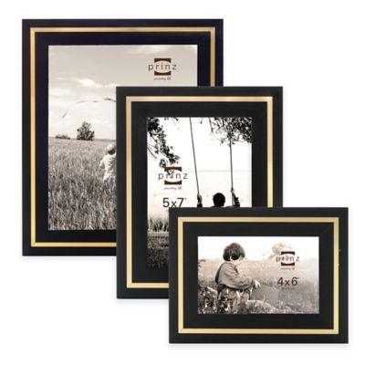 Prinz Artisan 4-Inch x 6-Inch Wood Frame in Black