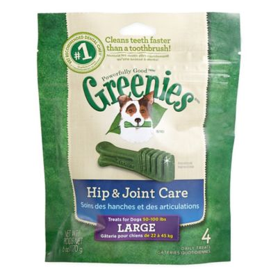 Greenies ® 6 oz. Hip & Joint Care Large Canine Dental Chews