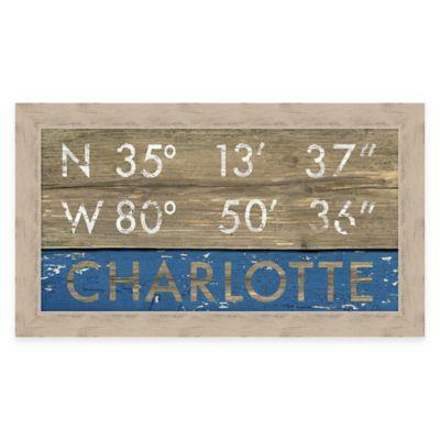 Framed Giclée Charlotte Coordinates Print Wall Art