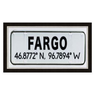 Framed Giclée Fargo Coordinates Print Wall Art