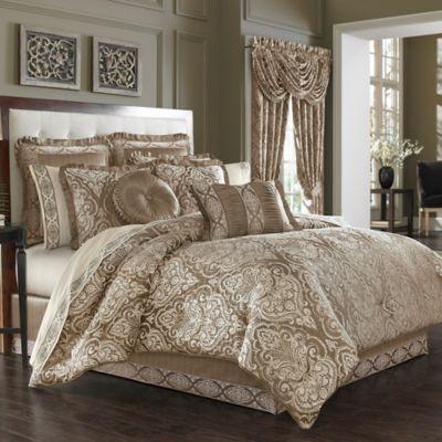 J. Queen New York™ Stafford Queen Comforter Set in Mocha