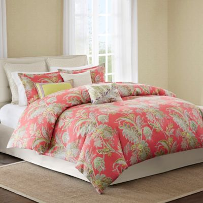 Echo Design™ Ishana California King Comforter Set in Coral