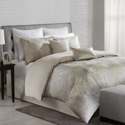 Echo Design™ Juneau Twin Comforter Set in Neutral