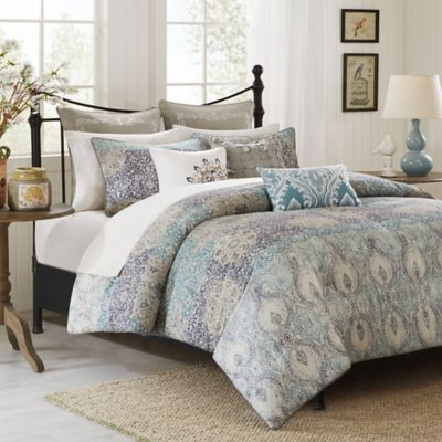 Harbor House™ Sanya Duvet Cover Set in Blue