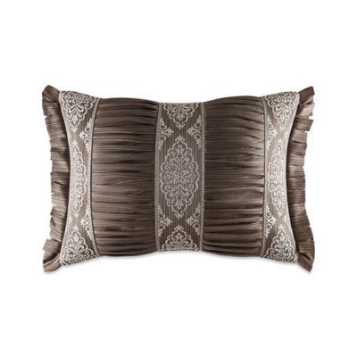 J. Queen New York™ Stafford Boudoir Throw Pillow in Mocha