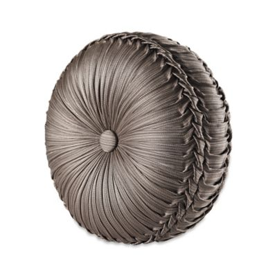 Round Tufted Decorative Pillow