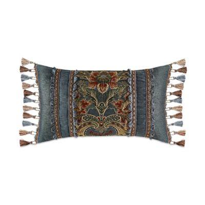 J. Queen New York™ Cassandra Boudoir Throw Pillow in Blue