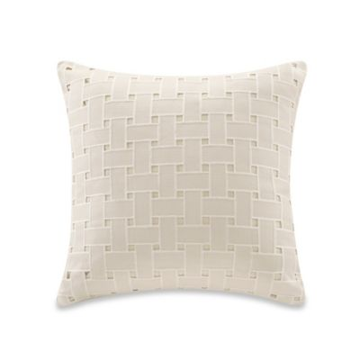 Echo Design™ Ishana Square Throw Pillow in Ivory
