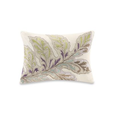 Echo Design™ Ishana Oblong Throw Pillow in Ivory