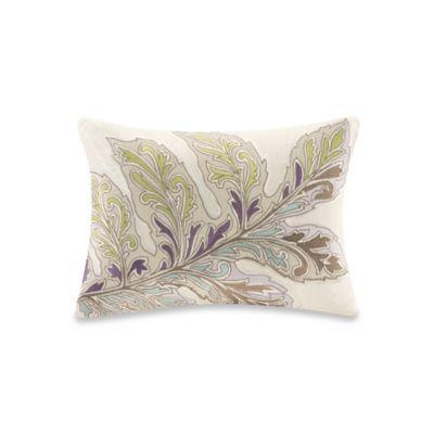 Ishana Oblong Throw Pillow in Ivory