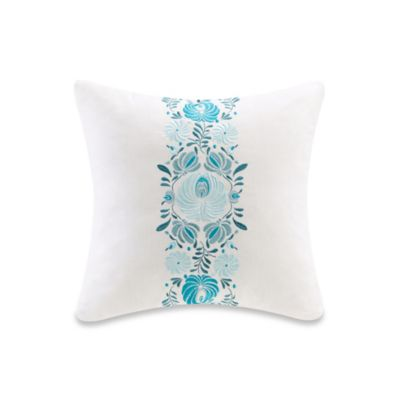 Echo Design™ Crete Floral Square Throw Pillow in White