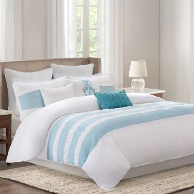 Echo Design™ Crete Full/Queen Duvet Cover Set in Teal
